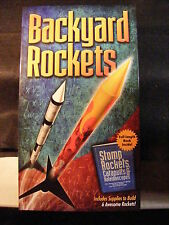 Backyard Rockets Stomp Rocket Kit-Make and Launch Your Own Rockets BRAND NEW!