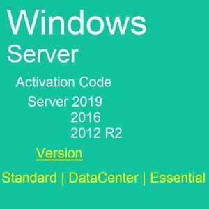 [LICENSE] SEVER STD/DTC/ESS Ver 2019 2016 2012R2 STD; USB