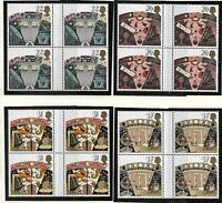 1990 - GB -'' Astronomy '' - Gutter Blocks of 4 - SG1522/5 - MNH