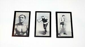 1912 Cohen Weenen Vintage Boxing Cards (Green Back) Curran Jeanette Storbeck 2 9