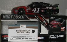 2017  KURT BUSCH #41 HASS AUTOMATION AUTOGRAPHED 1/24 CAR#203 OF 649 MADE W/COA