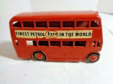 Vintage Morestone Double Decker Esso Bus Finest Petrol in The World