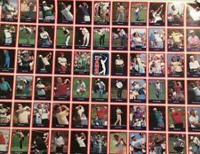 Uncut 1989 PGA Tour Cards Complete Set (Payne Stewart, Nick Price, Greg Norman)