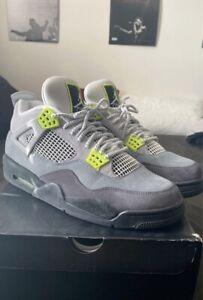 Size 12 - Jordan 4 Retro SE Neon 95 2020