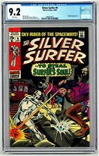 DSV5024. Silver Surfer #9 CGC 9.2 NM- Marvel Comics (1969) Mephisto Appearance