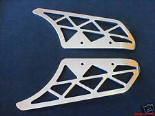 CNC ALUMINIUM LIGHTENED TOP BOTTOM BELT GUARDS BUELL