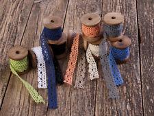 Vintage Spitzenband, Borte, Klöppelspitze, Baumwolle, Lurex  Spitze (ohne Spule)