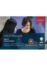 ACCA P3 Business Analysis: Passcards by BPP Learning Media (Spiral bound, 2016)
