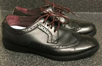 Ted baker UK 10 / 44 Black Brogues Leather Oxford Shoes Suit Smart Occasion Work