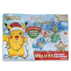 2021 Pokemon Happy Holidays Deluxe Holiday Advent Calendar Pop Up N Play Display