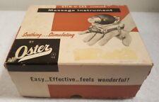 VTG Oster STIM-U-LAX Junior Model M-4 Standard Massage Instrument TESTED WORKS