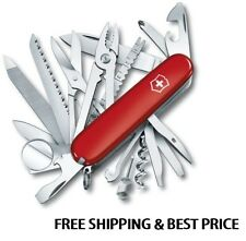 1.6795 VICTORINOX SWISS ARMY POCKET KNIFE RED SWISSCHAMP 16795 53501 VI53501