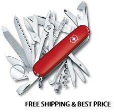 1.6795 VICTORINOX SWISS ARMY POCKET KNIFE RED SWISSCHAMP 16795 53501 VI53501