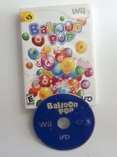 Balloon Pop game for Nintendo Wii - FAST AND FREE SHIPPING !!