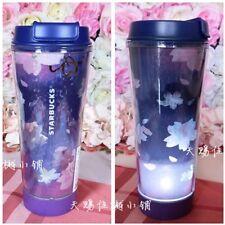 New Starbucks 2018 China 12oz Dawn Sakura Led Tumbler