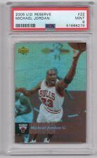 2006 Upper Deck Reserve Refractor Michael Jordan #22 PSA 9 MINT