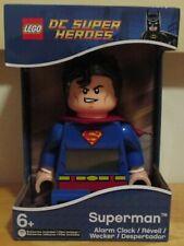 LEGO DC Super Heroes Superman Alarm Clock