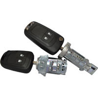 Lock Set For Opel Adam / Astra J / Insignia / Zafira C  With 2 Remote Keys