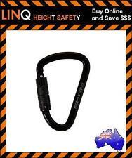 Linq 30kn Triple-lock Karabiner Steel Alloy 26mm (ktasa)
