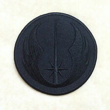 1.5inches NEW JEDI ORDER STAR WARS EMBROIDERY IRON ON PATCH BADGE #ALL BLACK