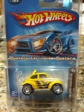 Hot Wheels Mystery Car Baja bug with Real Riders Cast Metal Car silver Hubs