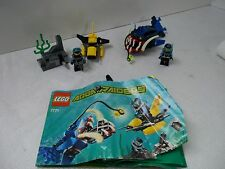 lego 7771 Angler Ambush Aqua Raiders set scuba divers minifigs instructions