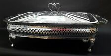Vintage Silver Plated Oven To Table Serving Tableware Unused