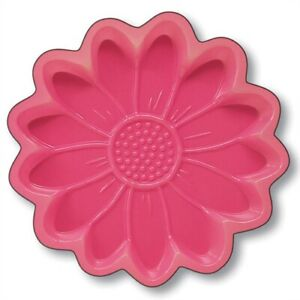 Daisy 11 Inch Plastic Pink Serving Tray Spring Flowers Floral Party Decor