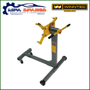 SIP 09806 WINNTEC 400kg ENGINE STAND WITH 8 LOCKABLE POSITIONS