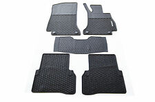 Rubber Floor Mats Custom-made Tailored for Mercedes-Benz C Class W205 14-18