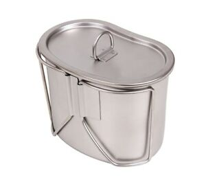 Rothco Stainless Steel Canteen Cup and Cover Set 8512