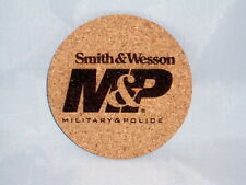 """Smith & Wesson M&P Drink Coasters Set of 4 - CORK 4"""""""