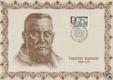 FRANCE ENCART SUR SOIE : GASTON RAMON
