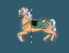 """Pharaoh Esumi"" ~ Haflinger Carousel Horse print 7X10"