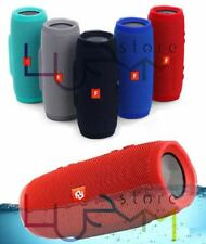 CASSA SPEAKER BLUETOOTH IMPERMEABILE USB VIVAVOCE IPOD SMARTPHONE TABLET iPhone