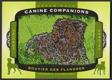 2018 Goodwin Champions Canine Companions Patches #Cc165 Bouvier Des Flandres
