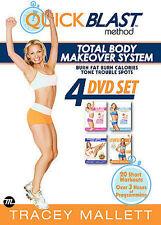 Tracey Mallett QuickBlast - 4 Pack (DVD, 2008, Slim Case)
