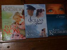 Divine - Even Now - Oceans Apart - 3 Books by Karen Kingsbury