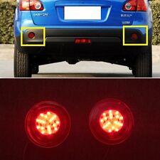 Red LED Rear Bumper Reflector fog Light Lamp For NISSAN QASHQAI 2007 2008 2009