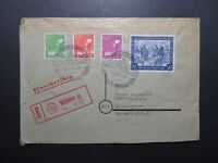 Germany 1948 Weissenhorn Event Cover w/ Better Issues - Z10374