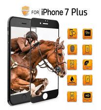 5D Schutz Glas für iPhone 7 Plus, 9H,360°FULL SCREEN!Neueste Technologie!Schwarz