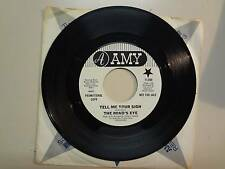 "MIND'S EYE: Tell Me Your Sign- Mistic Woman-U.S. 7"" 1969 AMY Records A-11,050 DJ"
