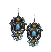 Boucles d'Oreilles Earrings Bohème Neuf Mode Fashion Pour Femme Fille Chic