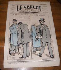 Le Grelot Journal Satirique N°147 Chacun son Tour Par Alfred Le Petit  1874