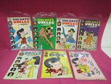 Harvey Comic Book Lot of 7 Little Dot Uncles and Aunts            G21