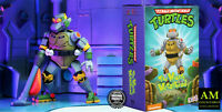 NECA Tmnt - Nickelodeon The Mighty METALHEAD - Ultimate Figura Azione - Nuovo /