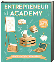 Entrepreneur Academy by Steve Martin (Paperback) stickers, poster+ FREE ship $35
