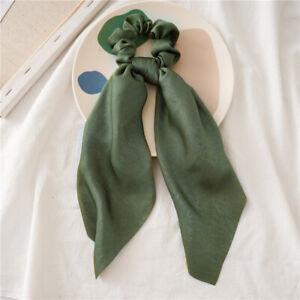 Girls/Women Bunny Ear Hair Scrunchie Knot Bow Hair Band Hair tie Bows Hair bow