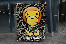 Bathing Baby Milo Ape Soft Blanket Throw carpet towel Bape Camouflage