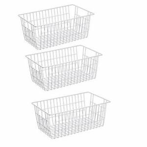Slideep Farmhouse Metal Wire Basket,  Assorted Colors , Package Quantitys